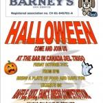 Barney's Halloween Event